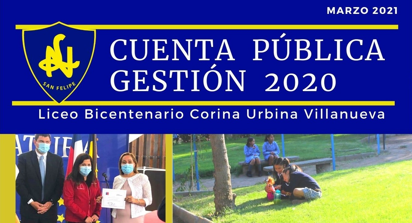 Cuenta Pública Liceana 2020